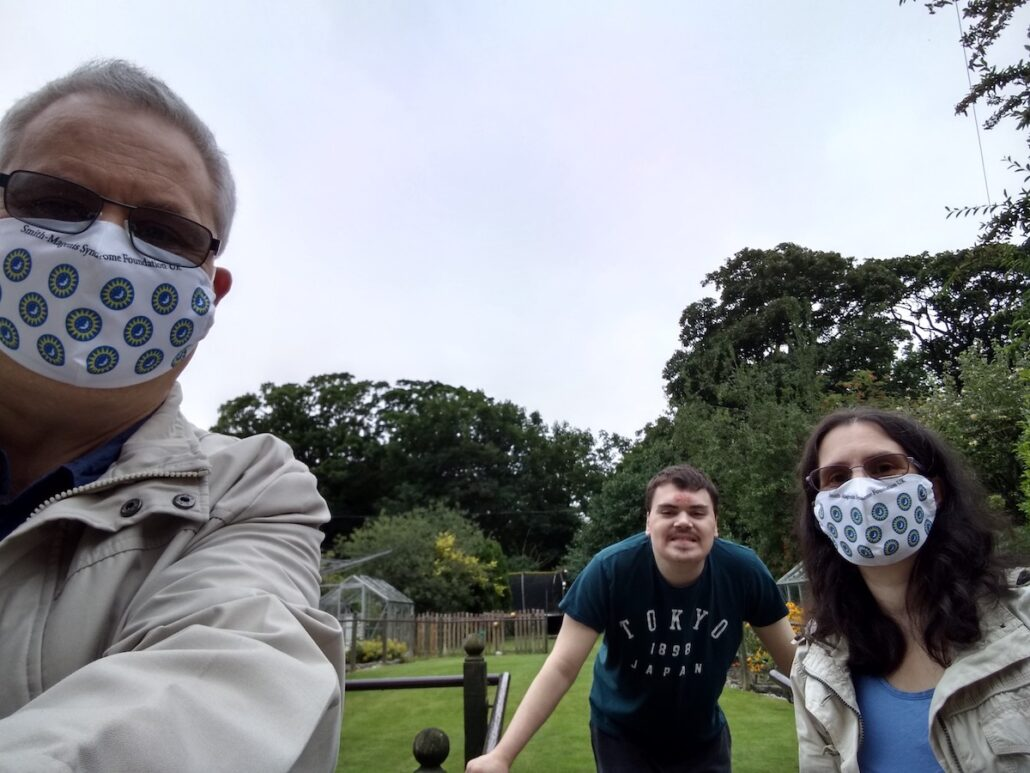 Garden visit with Mum and Dad
