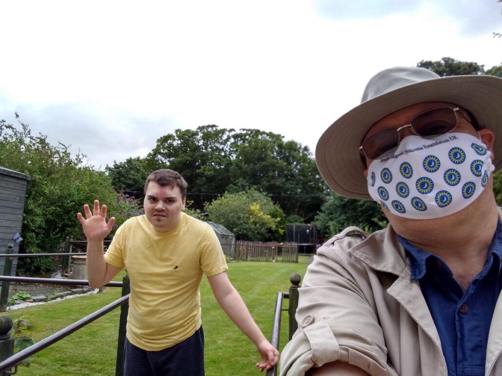 30 minute garden visit with dad