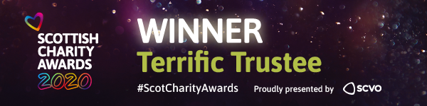 SCA Terrific trustee award badge