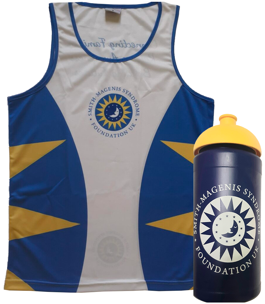 SMS running vest and SMS sports drinking bottle