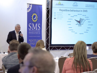 Prof Chris Oliver presenting at the 2017 SMS Conference
