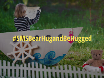 SMS Bear Hug and Be Hugged badge