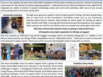 snapshot of December newsletter