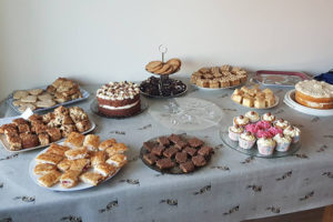 Cake bake and coffee morning organised by Diane Turner