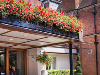 The St. John's Hotel Solihull venue for the SMS conference 2017