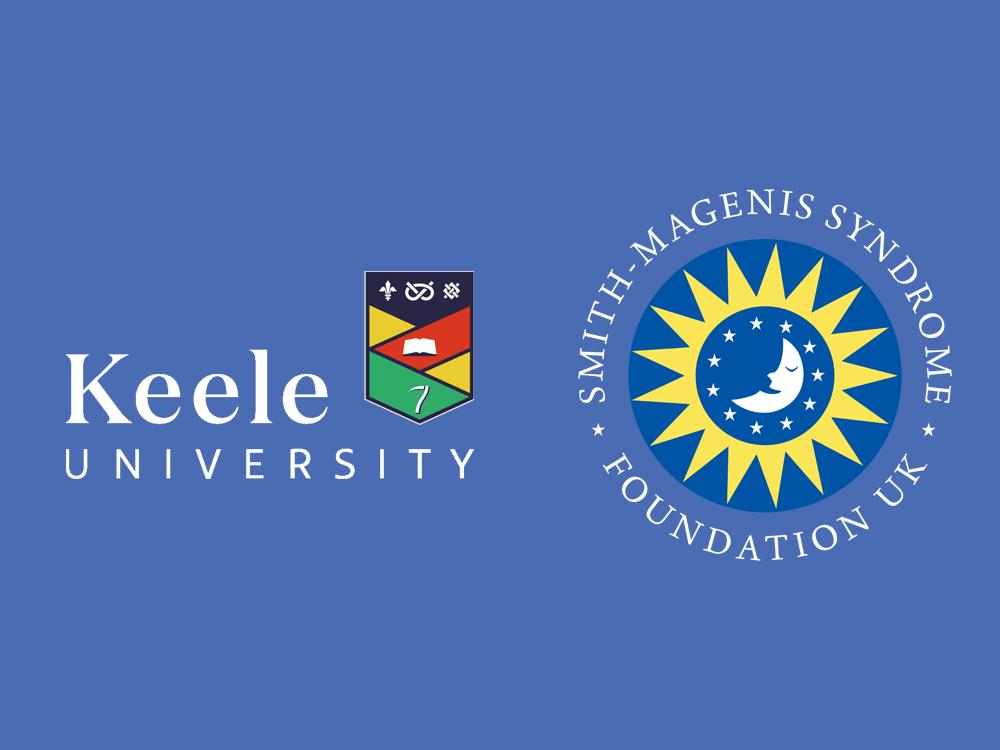 Keele University and SMS Foundation logos