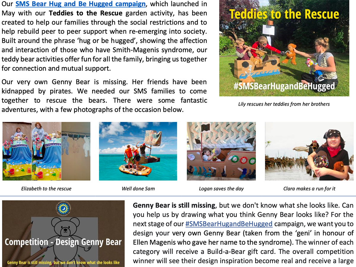 newsletter snippet early summer 2020