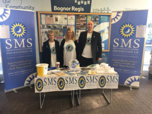 The Pearson family raising awareness of Smith-Magenis Syndrome in Tesco Bognor Regis