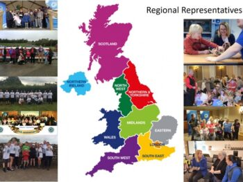 SMS Regional representatives map image