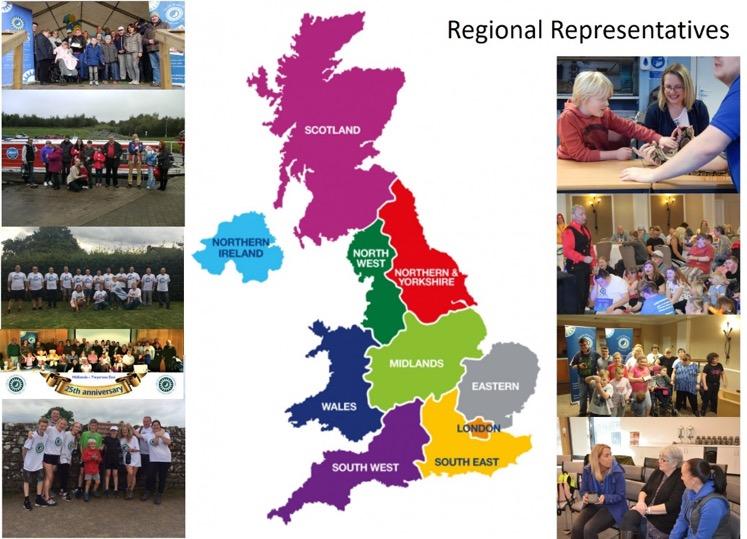 SMS Regional representatives map image