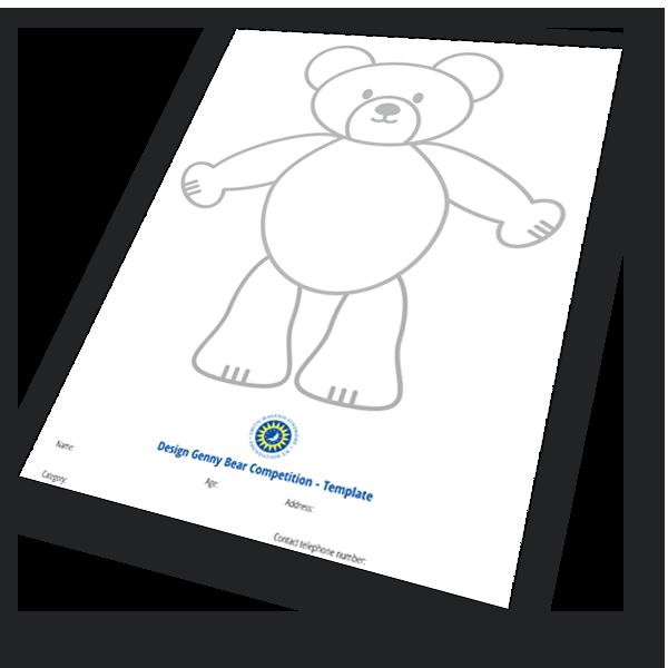 Genny bear outline