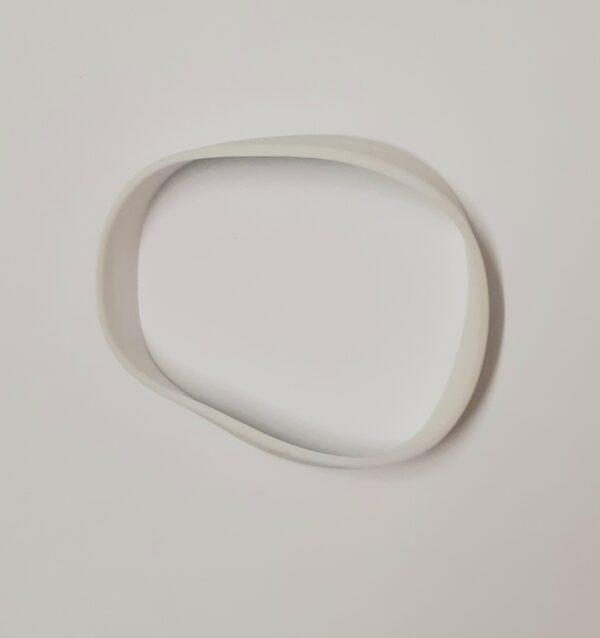 white wristband
